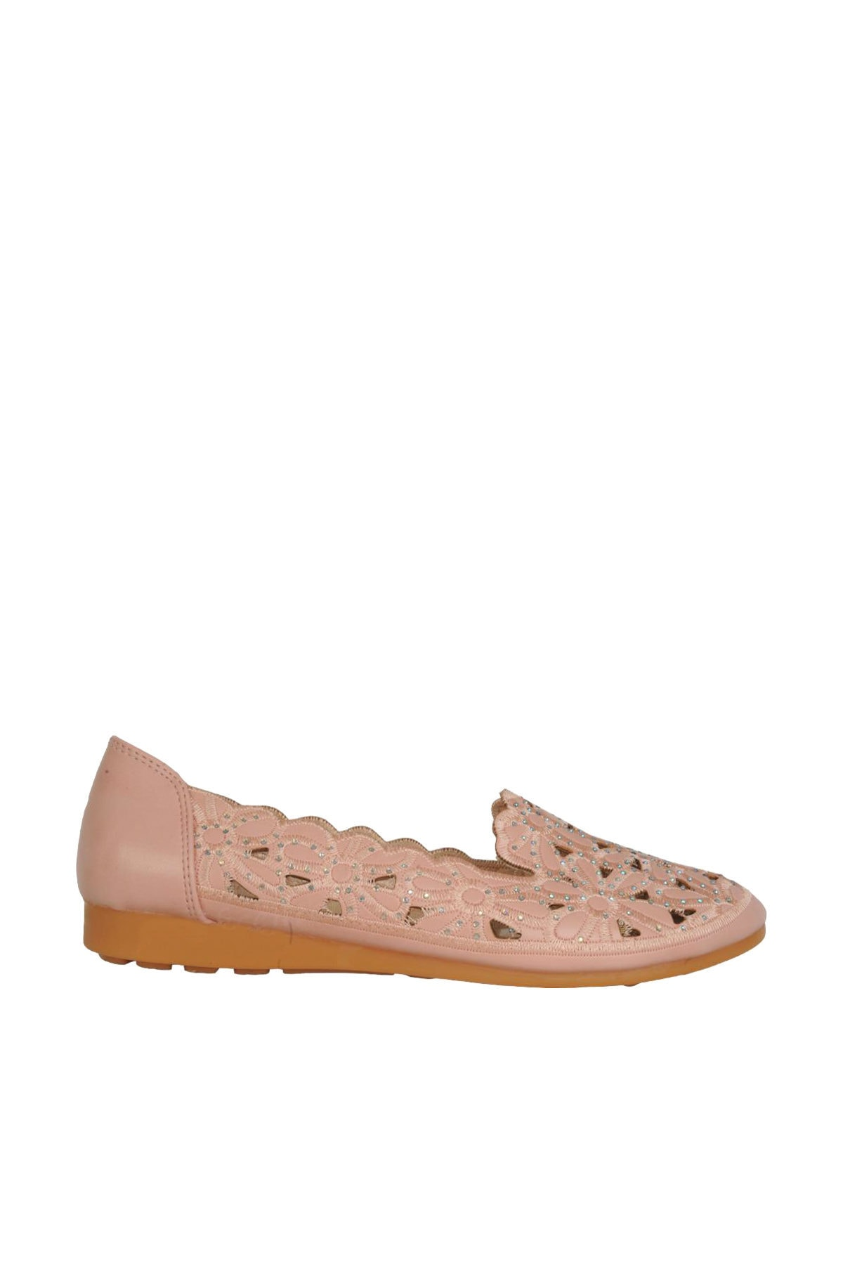 Almira Yazlık Desenli Günlük Rahat Bayan Babet Ayakkabı 1