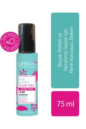 Urban Care Saf Hindistan Cevizi Yağı&Aloe Vera İçeren Renk Koruyucu Saç Serumu 75 ml