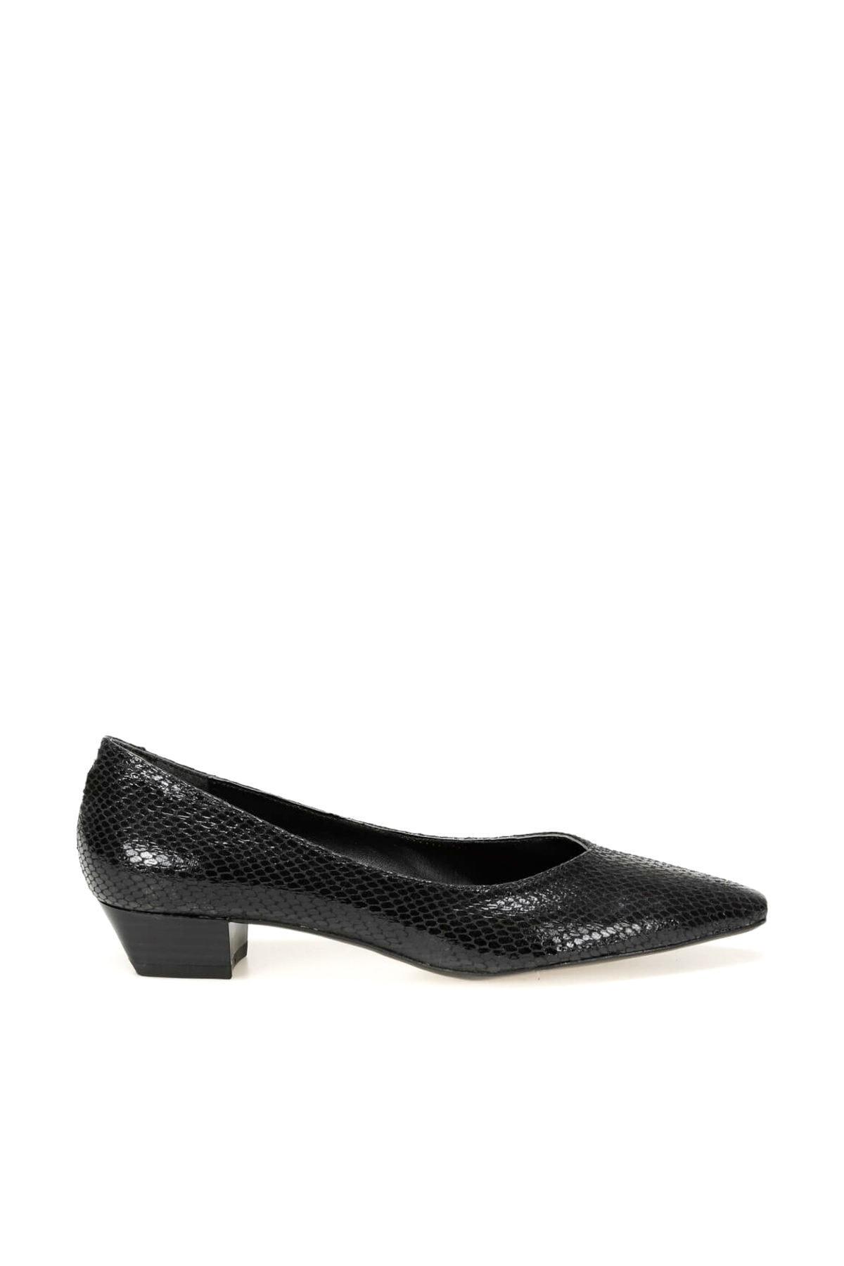 Miss F DW19075Y Siyah Kadın Gova Ayakkabı 100439742 2