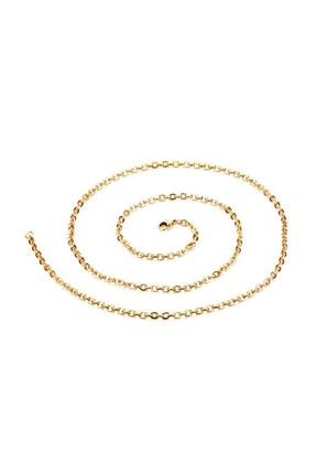 Chavin Kadın  Erkek 75 Cm. 2Mm. Gold İpc. Çelik Kolye Zinciri ehy-dt41