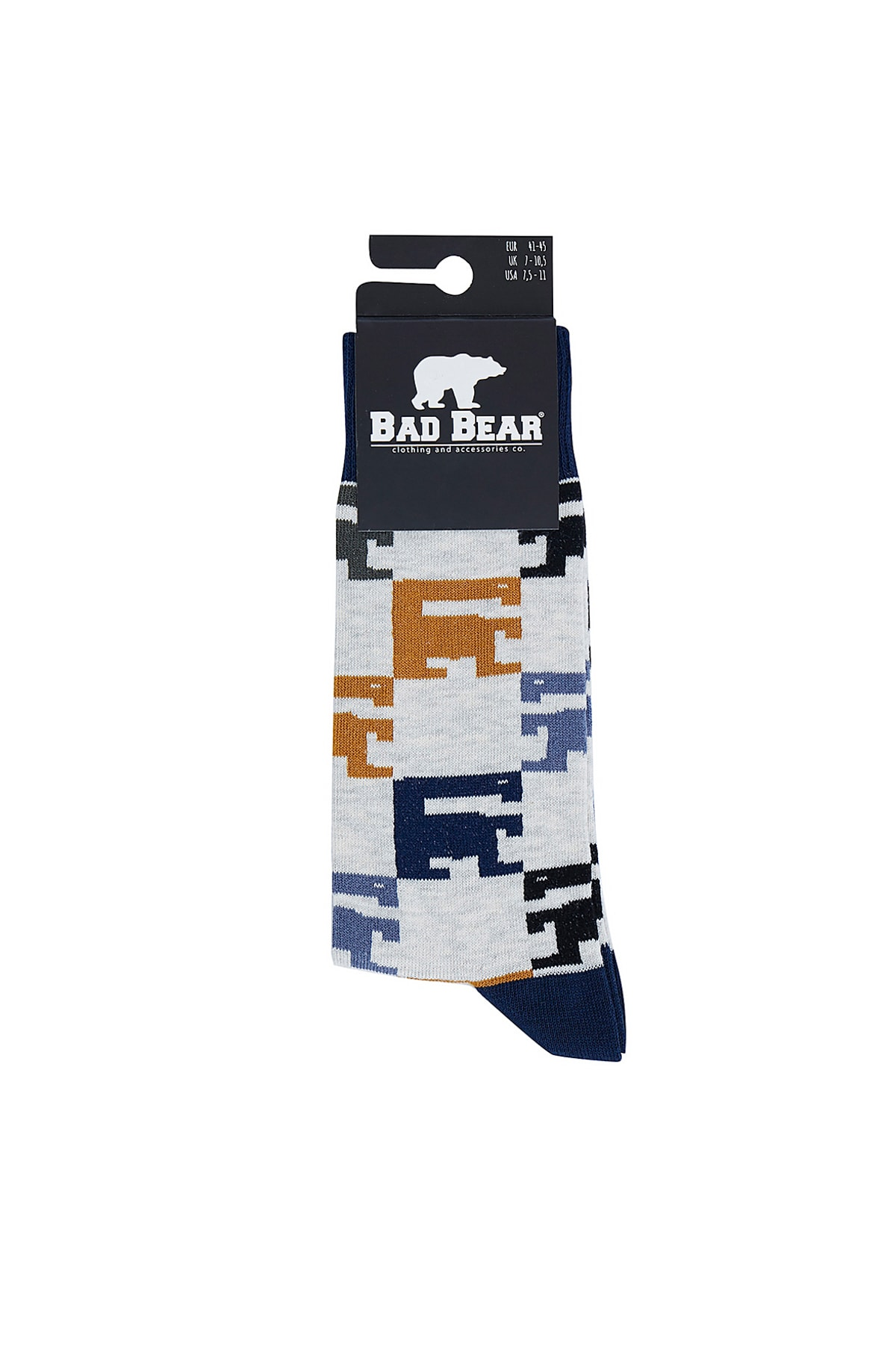 Bad Bear Gri Erkek Çorap RECK TALL GRAYMELANGE 2