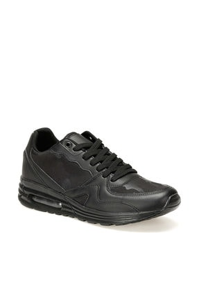 FORESTER LB-101 Siyah Erkek Kalın Taban Sneaker Spor Ayakkabı 100441000