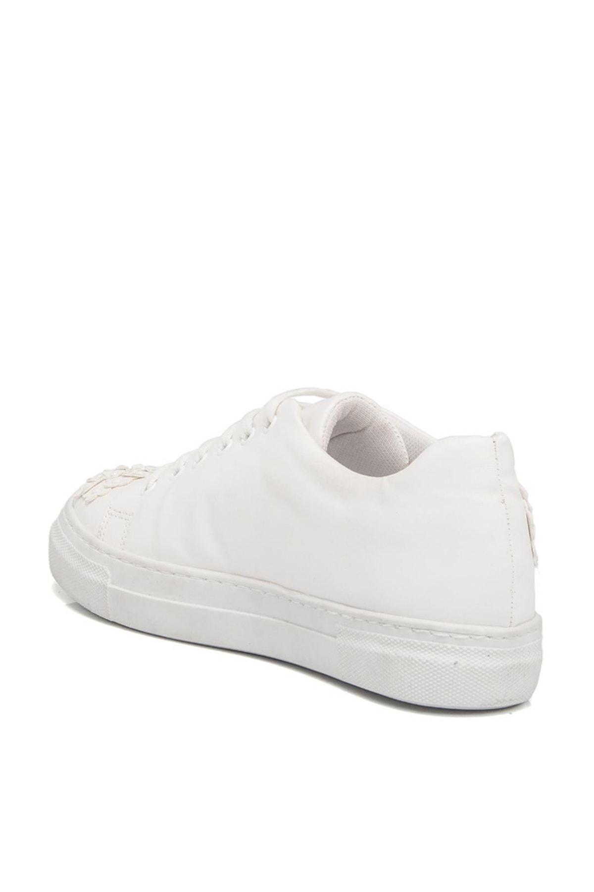Tergan Beyaz Kadın Klasik Ayakkabı K19I1Ay64258 2
