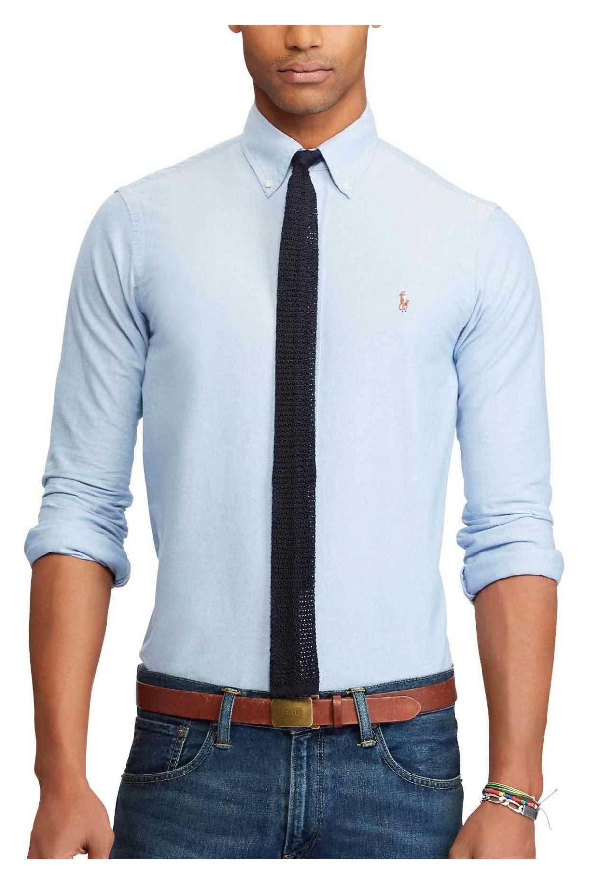 Polo Ralph Lauren Erkek Mavi Gömlek 3830056747060 1