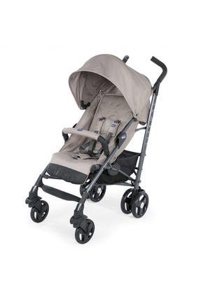 Chicco Lite Way 3 Top Stroller  Baston Bebek Arabası /Dark Beige