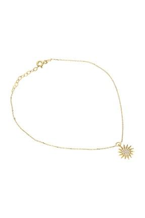 Glorria Kadın Altın Güneş Halhal VK0673