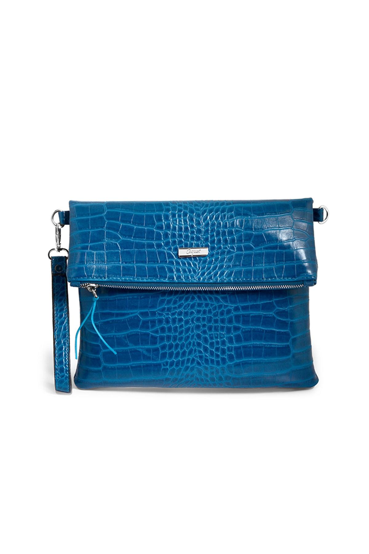 Coquet Accessories Kadın Koyu mavi Black Clutch 19G3U13N355 1