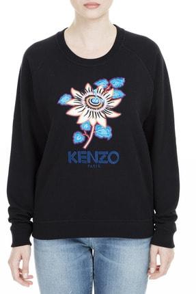 Kenzo Kadın Siyah Sweatshirt F96 2SW801 962 99