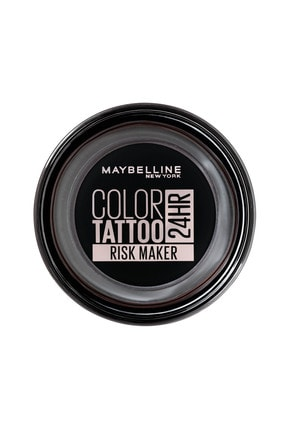 Maybelline New York Krem Göz Farı - Color Tattoo 24HR 190 Risk Maker 3600531581503