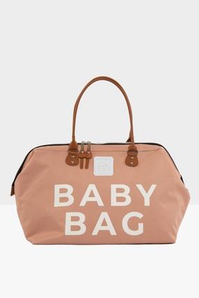 Bagmori Pudra Baby Bag Baskılı Bebek Bakım Çantası M000002169