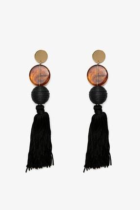 Koton Kadın Siyah Bijuteri Küpe 0KAK71260OA