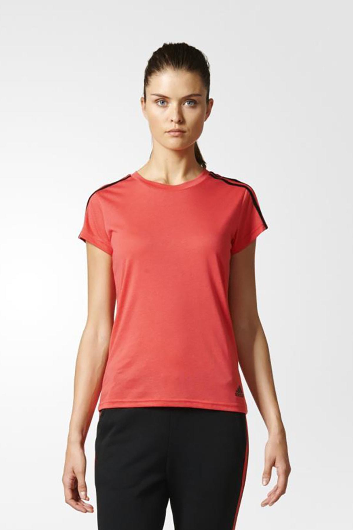 adidas Kadın T-shirt - Ess 3S Slim Tee - S97184