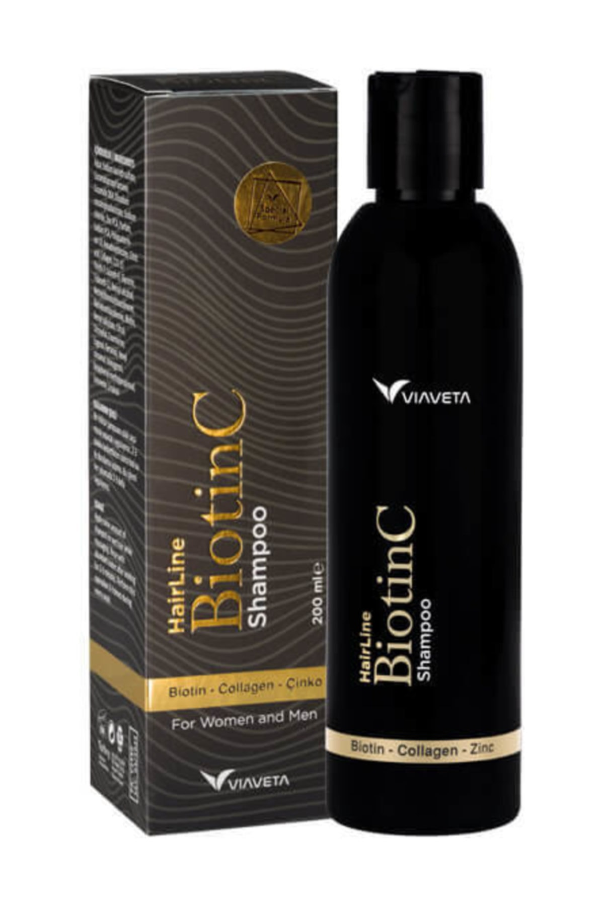 ViaVeta Biotinc Şampuan - 200 ml 1