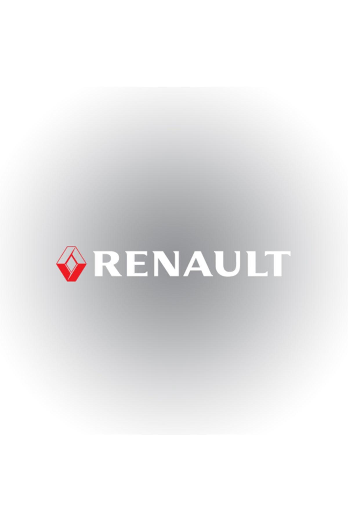 Otografik Renault Ön Cam Oto Sticker  60 cm X 9 cm 1