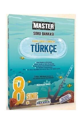 Okyanus Yayınları 8. Sınıf Türkçe Master Soru Bankası