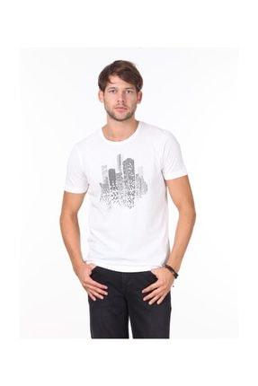 Kip Erkek Beyaz Örme T - Shirt KP10117808