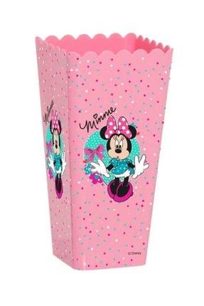 Herevin Minnie Mouse Pembe Patlamış Mısır Kutusu - Kız Çocuk
