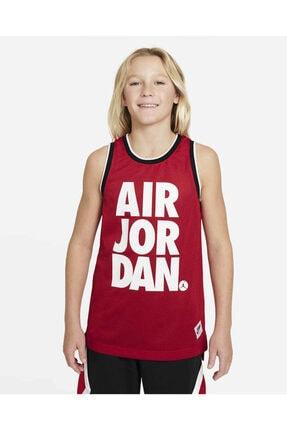Nike Erkek Çocuk Kırmızı Jordan Jdb Jumpman Mesh Jersey Atlet 95a436-r78