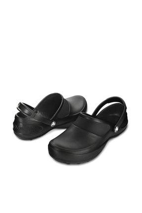 Crocs MERCY WORK BLACK-BLACK Siyah Kadın Terlik 100529051