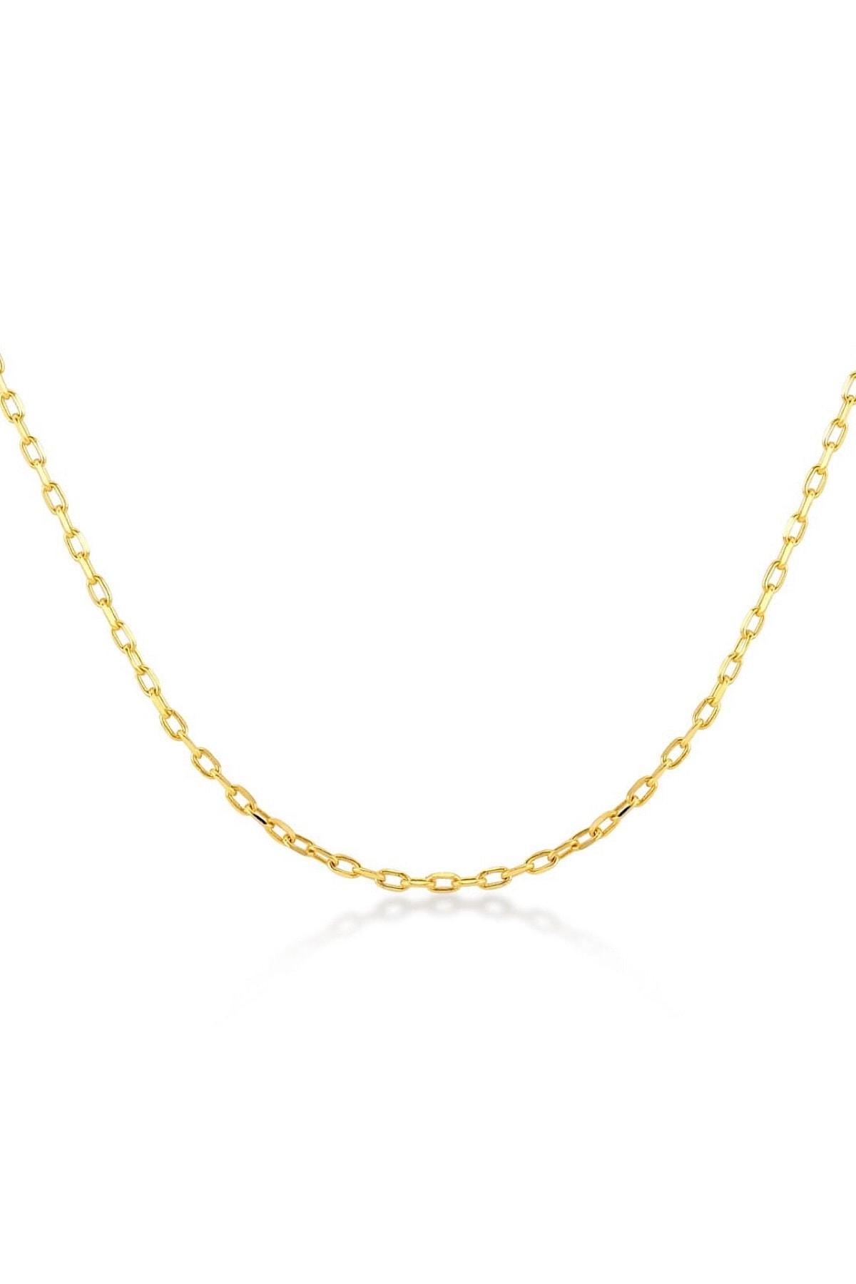 Demas Gold Kadın 14 Ayar Altın Zincir Kolye 1