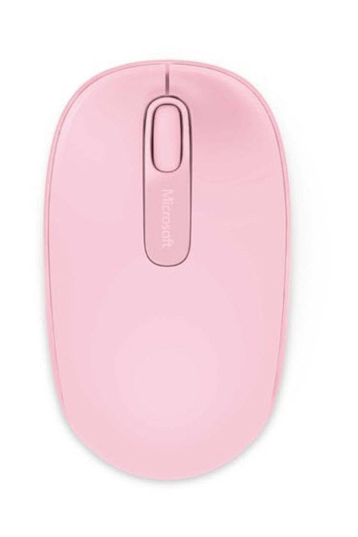 MICROSOFT Mobile 1850 Kablosuz Pembe Mouse (U7Z-00023) 1