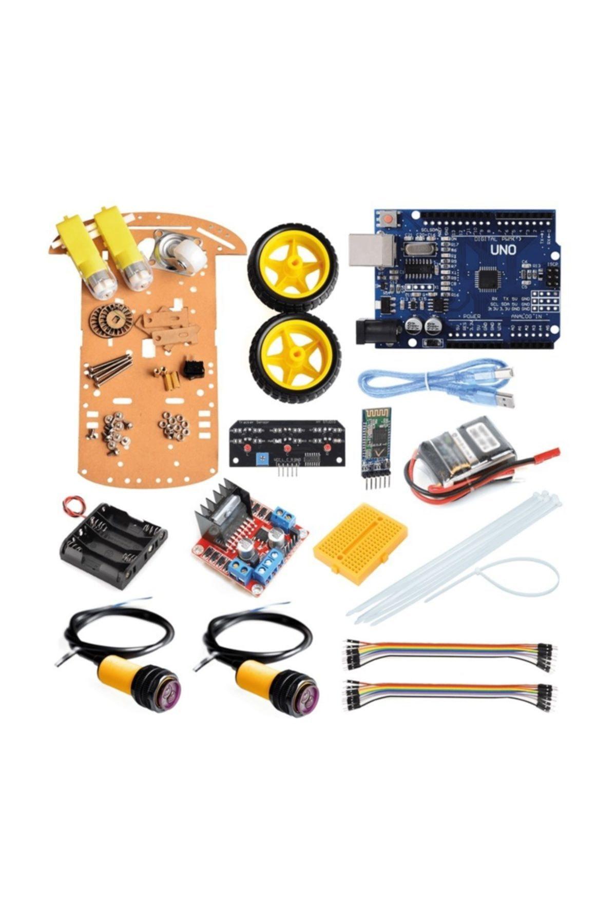 Robocombo Arduino Akıllı Robot Kiti - Kendin Yap Mbot 1