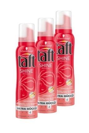 Taft Işıldayan Parlaklık Shine Saç Köpüğü 150 Ml x3