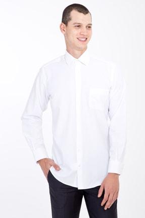 Kiğılı Uzun Kol Desenli Klasik Gömlek