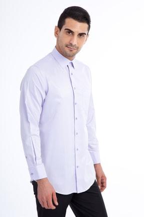 Kiğılı Erkek Lila Gömlek - 55728