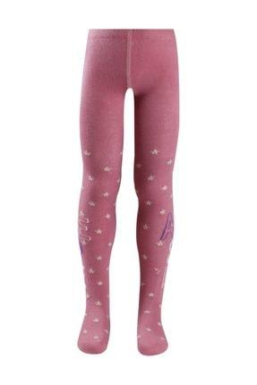 Bross Awesome Yazılı Yıldız Desenli Çocuk Külotlu Çorap