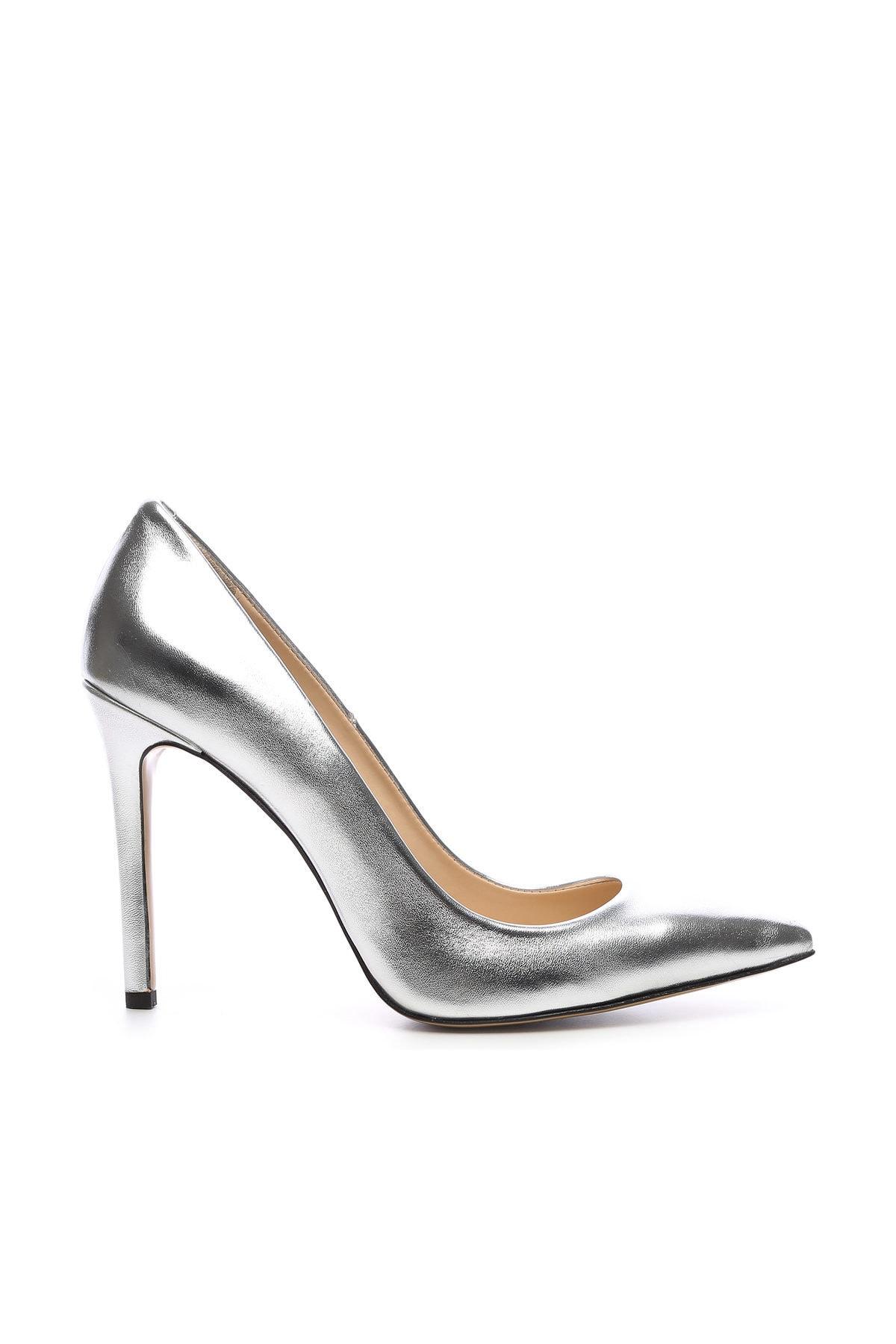KEMAL TANCA Gri Kadın Vegan Klasik Topuklu Ayakkabı 22 51191 BN AYK Y19 1