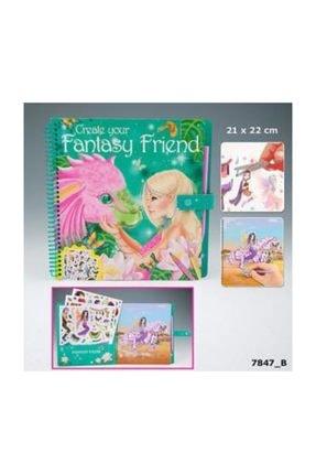 Top Model Fantasy Model &friends Boyama Kitabı Dk07847