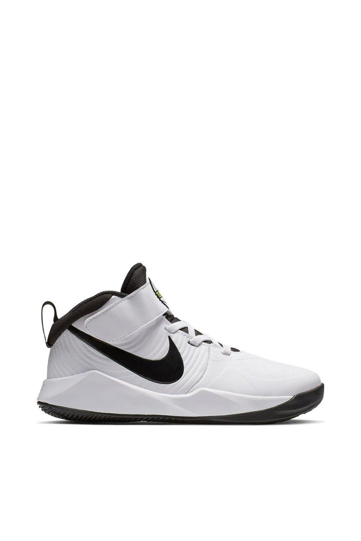 Nike Kids Beyaz Çocuk Team Hustle D 9 {Ps} Basketbol Ayakkabısı