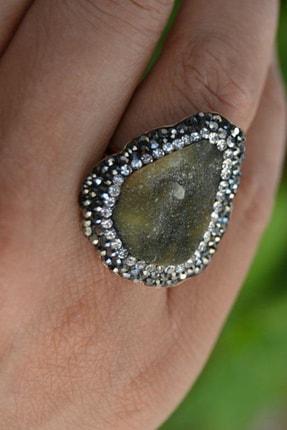 Stoneage Kristopras Taşlı Ayarlanabilir Bayan Yüzük