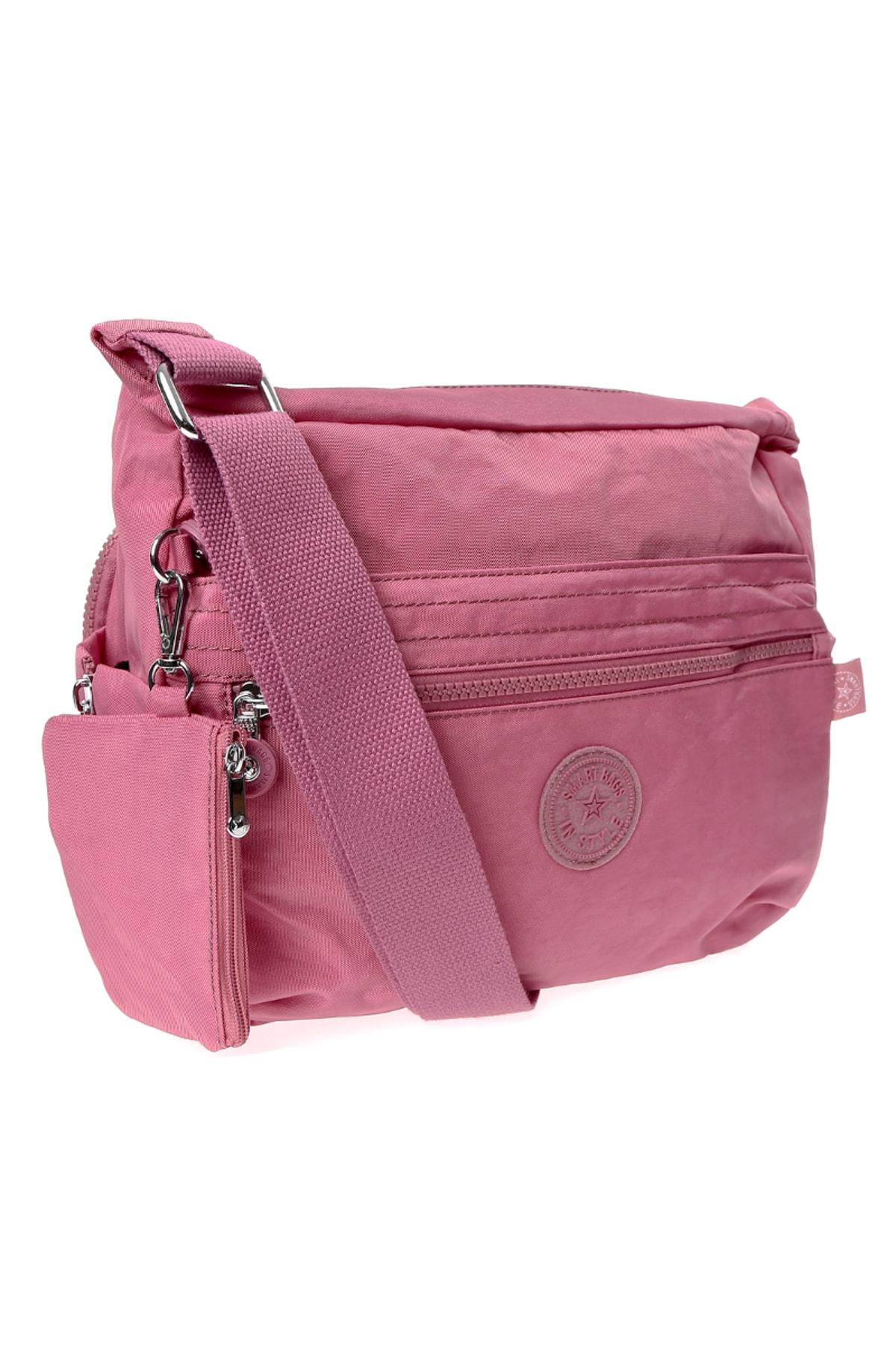SMART BAGS Pembe Kadın Çanta 2