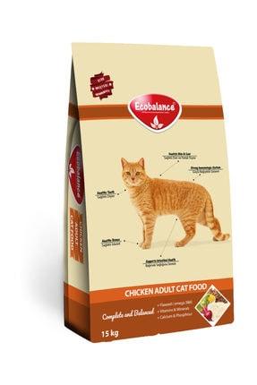 ECOBALANCE Tavuklu Yetişkin Kedi Maması 15 Kg