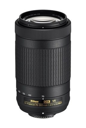 NİKON 70-300mm F/4.5-6.3g Ed Vr Dx Lens (titreşim Önleyen Modelidir Vr) Siyah