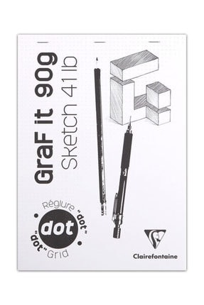 Clairefontaine Graf It Dot Noktalı Blok 90g 80 Yaprak A5