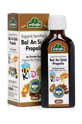 Arifoğlu Organik Bal Arı Sütü Propolis For Kids 100 ml