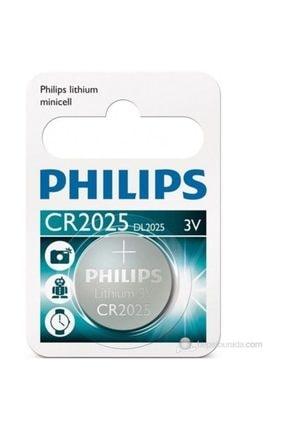Philips Cr 2025 Lithium Battery 3v.  Cr2025