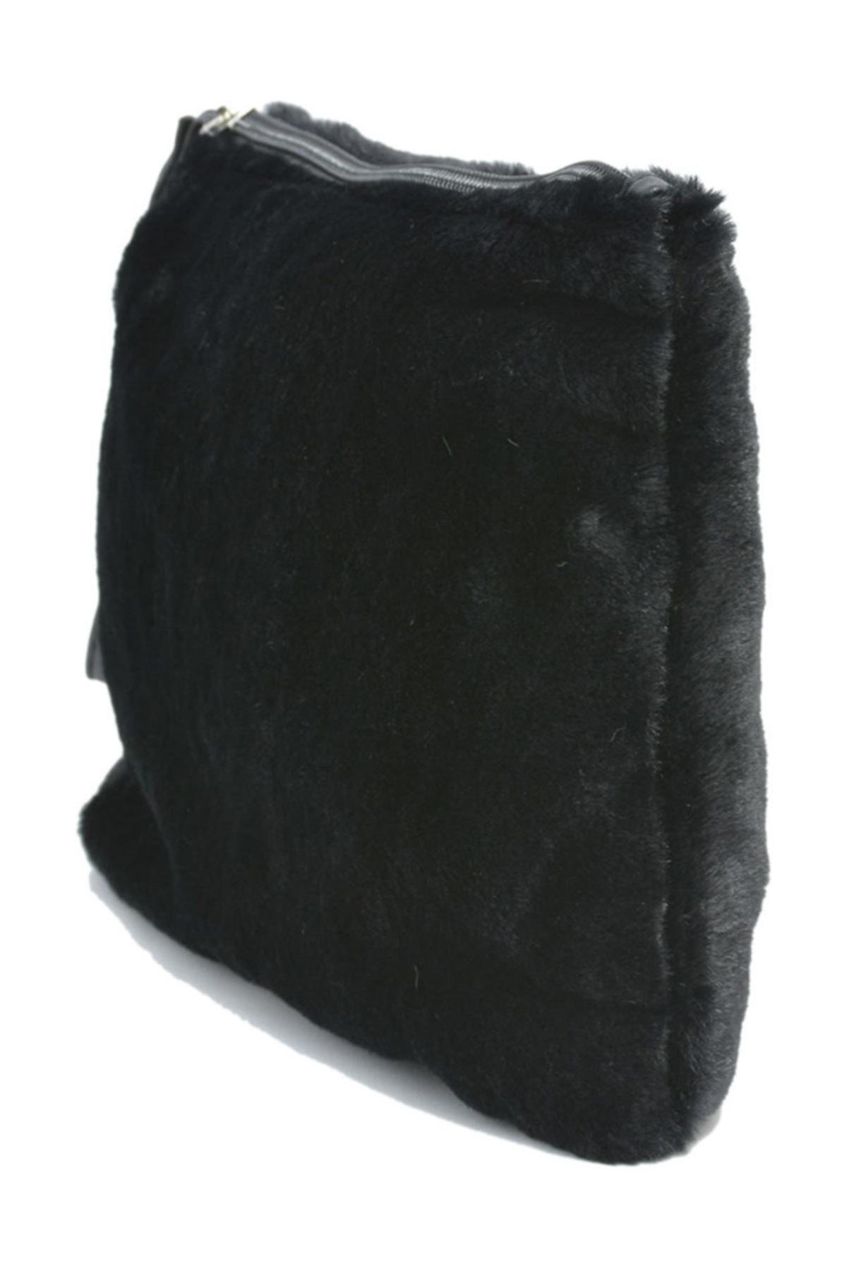 David Jones Kadın Clutch Çanta Siyah 2