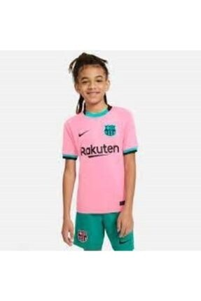Nike Kız Çocuk Pembe Fcb Y Nk Brt Stad Jsy Ss 3r Tshırt