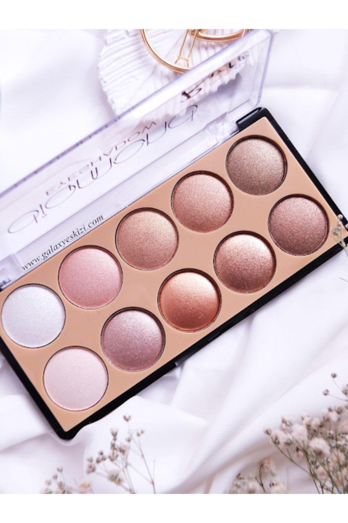 Makeuptime Rose Diamond 10 Lu Far Paleti 01 1