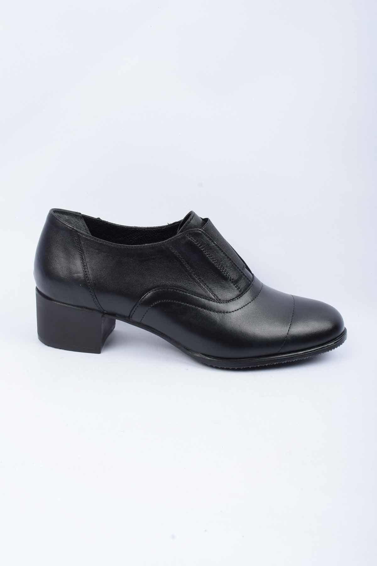 CHELSY Hakiki Deri Kadın Klasik Topuklu Ayakkabı 1