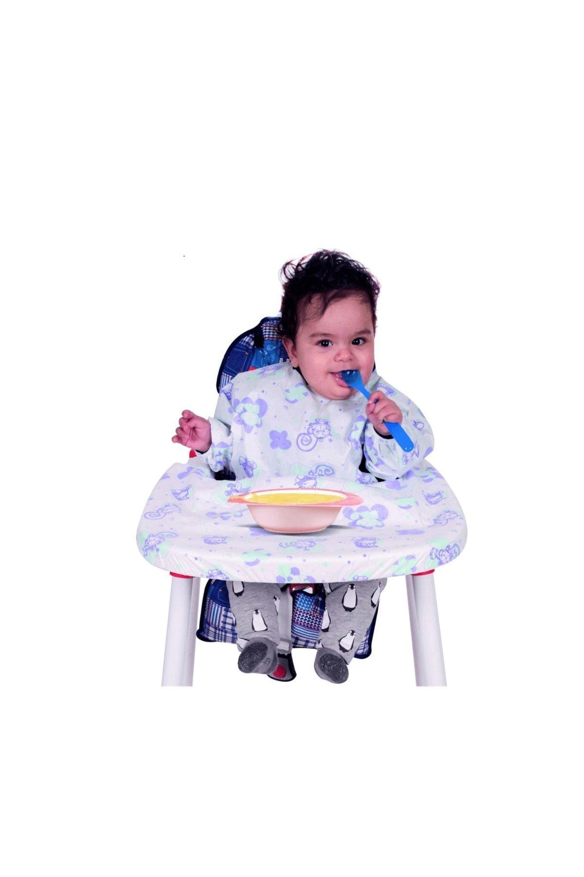 Sevi Bebe 264 Kullan At Kollu Mama Sandalyesi Önlüğü 5'li 1