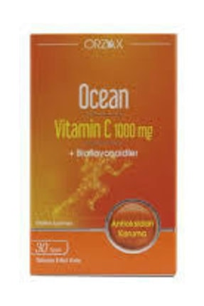 Ocean Vitamin C 30 Tablet 1000 mg