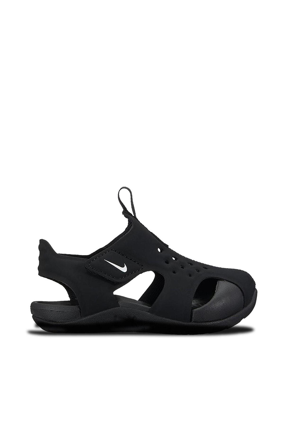 Nike Kids Siyah 943827-001 Sunray Protect 2 Havuz Deniz Bebek Sandalet