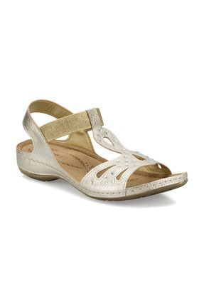 Polaris 161131.Z Altın Kadın Sandalet 100509452