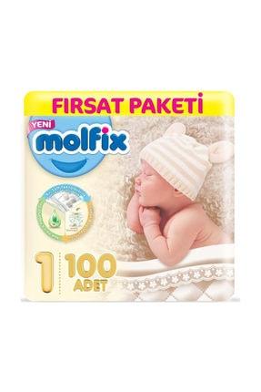 Molfix Bebek Bezi 1 Numara Yenidoğan 100 Adet 2-5 Kg