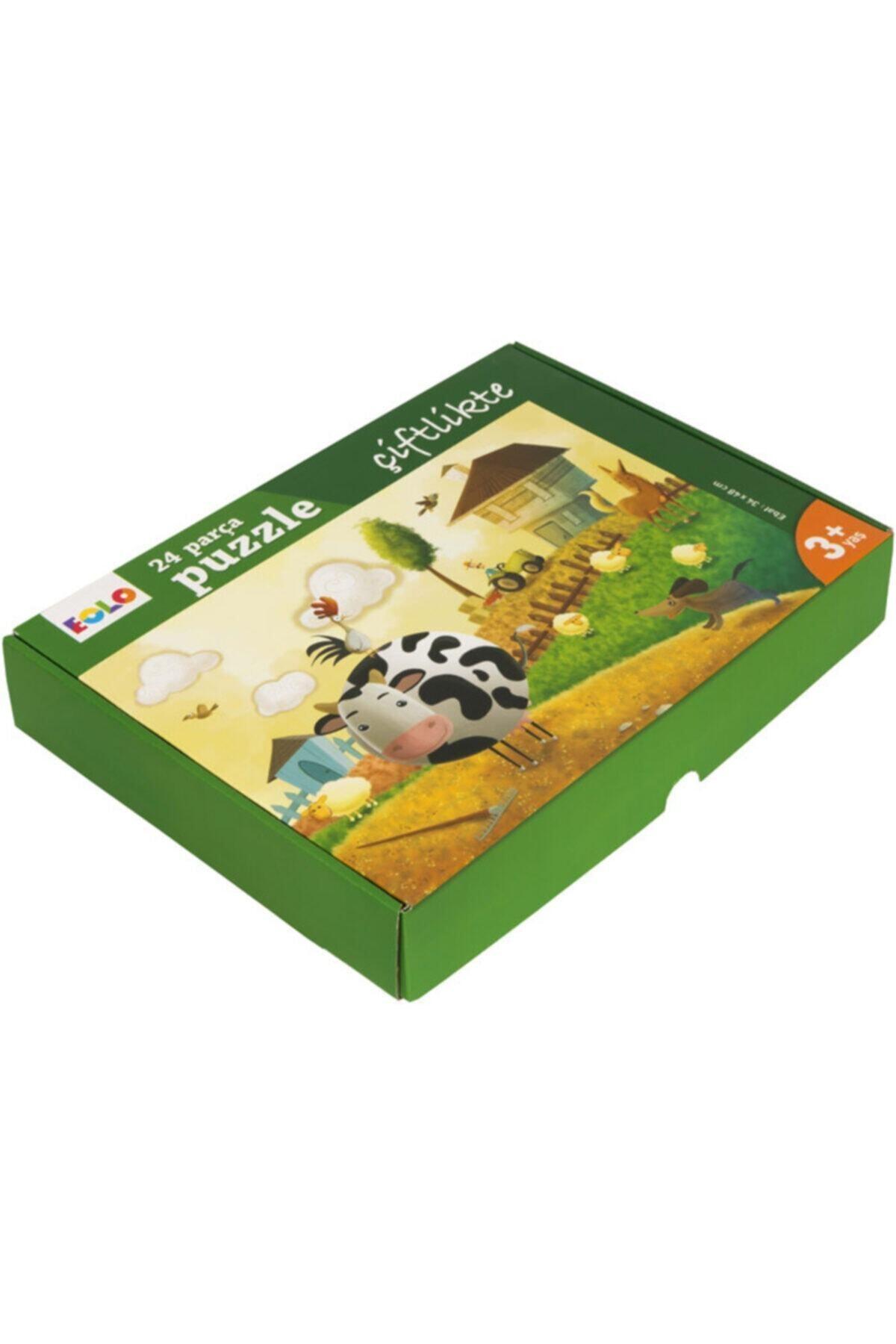 Eolo Çiftlikte 24 Parça Puzzle Çiftlikte 2